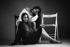Rime & Rania (aminefassi) Tags: aminefassi copyright fashion mode portrait rimrania twins jumelles fashionportrait onelight studio flash godox