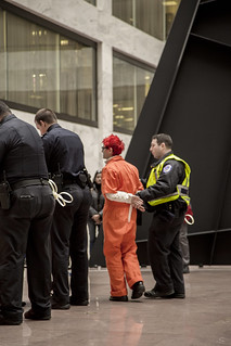Silke Tudor Is Arrested During an Anti-Torture Demonstration at the Hart Senate Office Building
