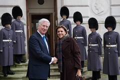 Defence Secretary hosts Counter-Daesh ministers (Ministerio de Defensa) Tags: ministryofdefence mod personnel seniorcivilian minister secretaryofstatefordefence sofs michaelfallon rthonmichaelfallonmp foreignoffice london uk