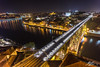 Always Somewhere Higher (Tim van Zundert) Tags: hdr river douro reflection porto portugal dom luis i bridge urban architecture cityscape landscape city europe night evening long exposure sony a7r voigtlander 21mm ultron