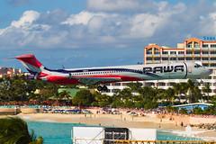 PAWA MD-83_AS5J2184 (RJJPhotography) Tags: sxm tncm princessjulianainternationalairport caribbean vacation