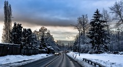 Street photography (Images by Christie ♪♫ Happy Clicks for 2017 !) Tags: street road driving vehicles cars sky snow winter nikon