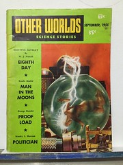Other Worlds science fiction stories 1955 (TDKer) Tags: woman 1950s 50s fiction novel pulp risqué