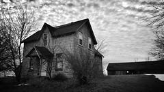 starting out on a bad note... (BillsExplorations) Tags: abandoned decay forgotten shuttered abandonedfarm abandonedillinois abandonedhouse old ruraldecay ruraldeterioration farm note hogs swine aroma