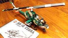 Brickmania AH1-G (BrickArms) Tags: brickmania ah1g cobra vietnam lego