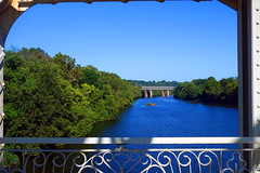 Schuylkill River in Fairmount Park, Philadelphia (neil.gilmour) Tags: schuylkill schuylkillriver water bridge falls fairmountpark philadelphia philly phila pennsylvania