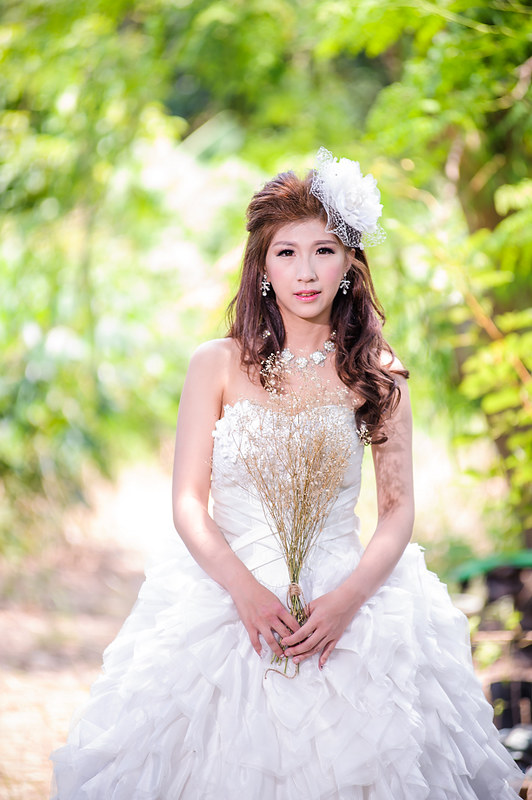 新秘,新娘秘書,戀戀山門婚紗基地,嘉義新秘 自助婚紗