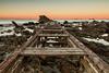 LUZ_8664 (Erik Niko) Tags: bridge broken sea rocks sun livorno rocce mare ponte pontile rotto