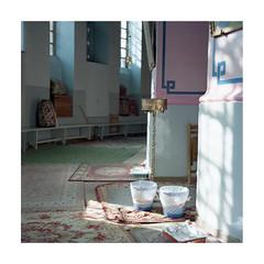 The Ethiopian Church, Jerusalem 2 (Gabriela Gleizer) Tags: israel jerusalem ethiopian church holy sacred religion christianity absence analog analogue film medium format mamiya c330 120 kodak portra 160 light