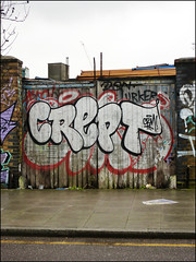 Crept (Alex Ellison) Tags: crept cbm hackneywick eastlondon urban graffiti graff boobs