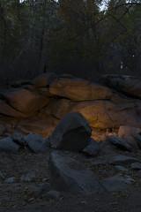 Gully Shelter (Jorge Ibarra L.) Tags: gully quebrada forest bosque landscape paisaje shelter albergue outdoor exterior rocks rocas