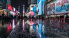 More Wet Times Square (20170114-DSC01622) (Michael.Lee.Pics.NYC) Tags: newyork timessquare night reflection rain snow wet puddles winter billboards advertising videodisplays lowpov sony a7rm2 fe1635mmf4