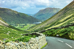Down to Ullswater (Ian Smith (Studio72)) Tags: rx100 sonyrx100 sony uk england cumbria lakedistrict kirkstonepass ullswater road country countryside landscape rural outdoors nature driving view scene scenic postcard mountains lake beautiful breathtaking studio72