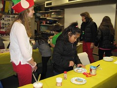 Winter Wonderland Crafts (Angels For Action) Tags: westfield highschool students volunteer donation crafts winter christmas holiday fun games help plainfield newjersey westfieldkeyclub keyclub