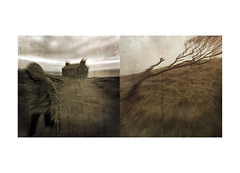 The year's end ii (mark kinrade) Tags: diptych manxlandscapes rural vintage