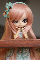 New old girl [TAG - Metas para 2018] (Bianca Hopkins) Tags: miyuki dal rechipped rewigged sakura obitsu 25cm g groove doll fashion