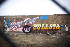 Spray Paint Not Bullets (Rodosaw) Tags: documentation of culture chicago graffiti photography street art subculture lurrkgod spray paint not bullets