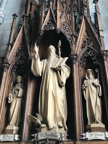 heiliger Ordensvater Benedikt