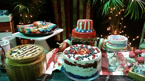 Grateful Dead Dessert Table