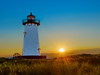 Edgartown Lighthouse Sunrise (Insite Image) Tags: lighthouse massachusetts edgartown marthasvineyard edgartownlighthouse sunrise sun grass water newengland nikon d750 insiteimage