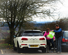 And now a short intermission - a 2016 BMW Mini Cooper S Clubman (John(cardwellpix)) Tags: sunday 26th february 2017 2016 bmw mini cooper s clubman