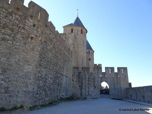 7. Cité Médiévale de Carcassonne, -Rempart gallo-romain nord