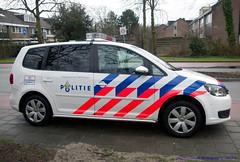 Politie, Haarlem (Martijn Groen) Tags: 2017 haarlem emergency hulpverlening netherlands nederland police politie vw volkswagen kennemerland