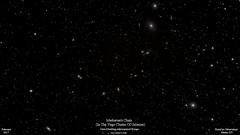 MarkariansChain_Feb2017_HomCavObservatory_ResizedDown2HD (homcavobservatory) Tags: homcav observatory markarians chain galaxy virgo m84 m87 ngc 4435 4438 astronomy astrophotography canon 700d orion 80mm apochromatic refractor camranger ipad autoguider