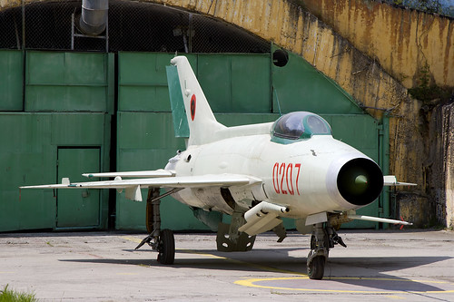 F-7 (MiG-21) Albanian Air Force