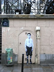 rue Clotilde de Vaux (Leo & Pipo) Tags: leopipo leoetpipo paris streetart street art artwork collage urbain urban paste poster affiche pasteup wheatpaste city ville mur wall rue sticker stencil tag graffiti retro vintage old handmade cut paper analog france dada surreal