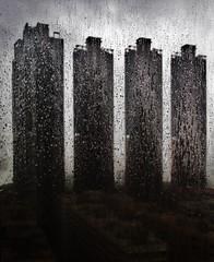 Kowloon in the rain (pdellouve) Tags: city urban rain buildings hongkong pluie kowloon