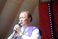 "Pride Organiser Alan Butler speaking about the importance of LGBT Pride - at Plymouth Pride 2015 • <a style=""font-size:0.8em;"" href=""http://www.flickr.com/photos/66700933@N06/20637123841/"" target=""_blank"">View on Flickr</a>"