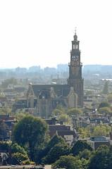 Westertoren (EdRocket) Tags: amsterdam skyline toren westertoren bovenaf