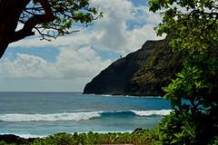 Makapu'u Point (jcc55883) Tags: ocean hawaii nikon surf oahu outdoor pacificocean frame makapuu makapuulighthouse nikond3200 makapuubeach makapuupoint d3200
