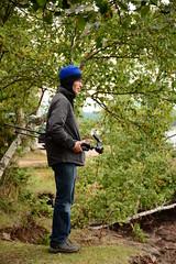 Great helper (Bubash) Tags: michigan tripod lakesuperior marquette presqueislepark