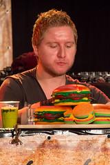 Working on it. (JSFotografie) Tags: hot dutch chili eindhoven hamburger fest scoville klokgebouw dutchchilifest