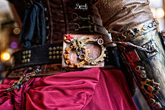 Steampunk Gear by Barbara (SpirosK photography) Tags: fashion gear gears steampunk steampunkfashion steampunkgear steampunkgun steampunkclothes