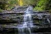 Minnehaha Falls, GA. (grantdaws) Tags: autumn mountain lake mountains fall nature mushroom beautiful beauty ga georgia waterfall north gap falls appalachian rabun minnehaha