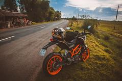 DSC_0039-2s (T.N Photo) Tags: road sky grass nikon tn duke ktm vietnam motorcycle 390 lightroom 18105 longan d90 ktmduke390 ktmvietnam
