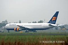 B767-319ER EI-UNC ICELANDAIR colours (shanairpic) Tags: irish shannon icelandair boeing767 b767 jetairliner eiunc