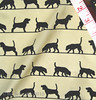 'Beagle silhouettes on ecru': proofing swatch (Su_G) Tags: dog pet silhouette puppy swatch hound silhouettes canine ecru sug domesticanimal spoonflower horizontalstripe basiccottonultra blackandecru beaglesilhouettesonecru beaglesilhouette beaglesilhouettes