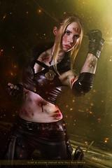 Sonya Blade - Mortal Kombat (no_birds_sing) Tags: game scarlet costume cosplay games cage jade videogame blade sonya saga johny mortalkombat striker mortal kombat kitana mileena sonyablade gamecosplay johnycage videogramecosplay