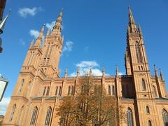 Markanter Treffpunkt: Marktkirche in Wiesbaden