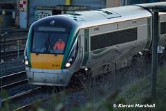 22033 approaches Islandbridge Jn, 7/10/15 (hurricanemk1c) Tags: dublin irish train rail railway trains railways irishrail rok rotem heuston 2015 icr iarnród 22000 22033 éireann iarnródéireann premierclass 5pce islandbridgejunction