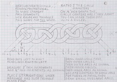 celtic knot step by step (Ernest Skiadas) Tags: triangle drawing steps graph demonstration step proof how straightedge celtic easy draw knots compass instruction precise