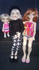 Daisy and Miriel with her new friend Camellia (Hanka.Ginn) Tags: fairyland luka mnf shiwoo pkf minifee rheia pukifee