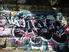 ASE LCS (Randall 667) Tags: street art river island graffiti writer drawbridge rhode seekonk tagger ase lcs artistprovidence