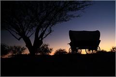 Wild, Wild West (kcezary) Tags: travel sunset arizona usa tourism phoenix canon dusk places rawhide canoneflens путешествия eosm canonprimelens canoneosm
