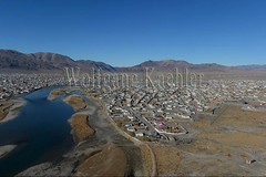 30095424 (wolfgangkaehler) Tags: city monument asian colorful asia hill aerialview mongolia centralasia aerialphotography aerials mongolian colorfulhouses aerialphotos viewofcity ulgii westernmongolia lgii bayanulgiiprovince monumenttothe75thanniversary