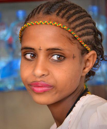 Orthodox Ashenda Girl, Ethiopia